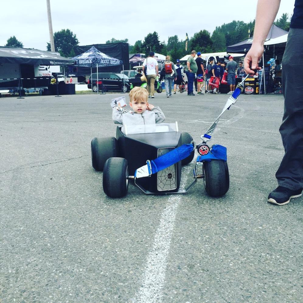 Coolest infant transportation unit, ever!