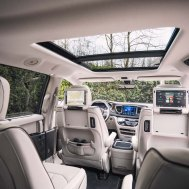 This is a pleasant space filled with many exciting and entertaining options. photo: Chrysler